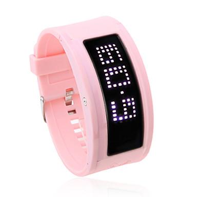 108 valkoinen led-valot vaaleanpunainen nauha rannekelloa kanssa 10 tervetuloa kirjaimilla tuontirajoitusten