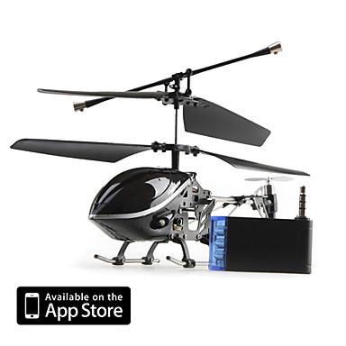 3-Kanal-i-Hubschrauber 777-170 mit Gyro von iPhone / iPad / iPod touch gesteuert (schwarz)