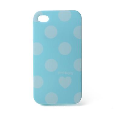 Protective Unique Spot Case for iPhone 4G (Blue)