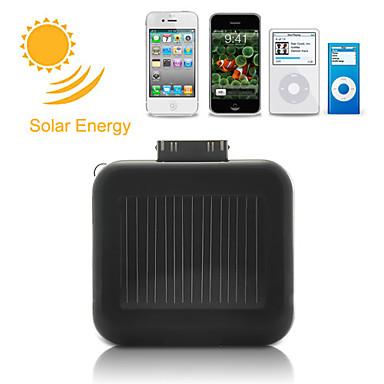 מטען סוללות סולרי עבור iPhone, iPod, Android Phone- שחור
