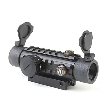 1 x 30 Reflex Laser Sight Rifle Scope (Red + Green Laser Configurable)