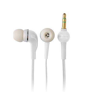 Eleganckie wysokiej jakości słuchawki, kabel 1,2 m, 3,5 mm (biały)