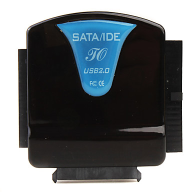 all-in-one SATA / IDE a USB 2.0 Convertitore (nero / blu)