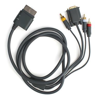 HD VGA AV Cable para Xbox 360