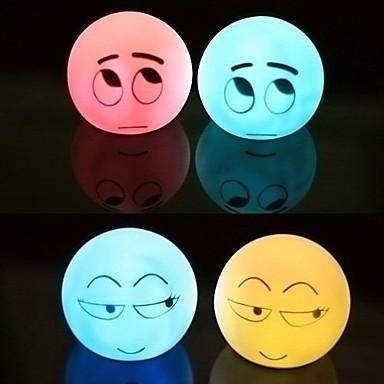 Novelty Expression Design Color Changing Mood Night Light