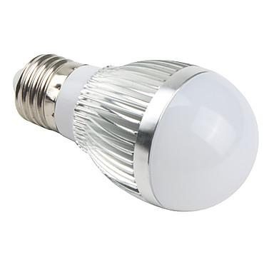 E26/E27 LED Globe Bulbs A50 3 leds Integrate LED 510lm Natural White AC 85-265