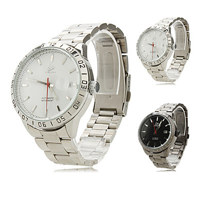 Men's Alloy Analog Mechanical Wrist Watch (Assorted Colors)
