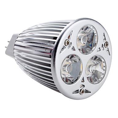 350-450lm GU5.3(MR16) LED Spot Işıkları MR16 3 LED Boncuklar Yüksek Güçlü LED Doğal Beyaz 12V