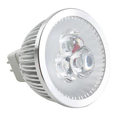 6500lm GU5.3(MR16) LED Spot Işıkları MR16 3 LED Boncuklar Yüksek Güçlü LED Kısılabilir Doğal Beyaz 12V / #