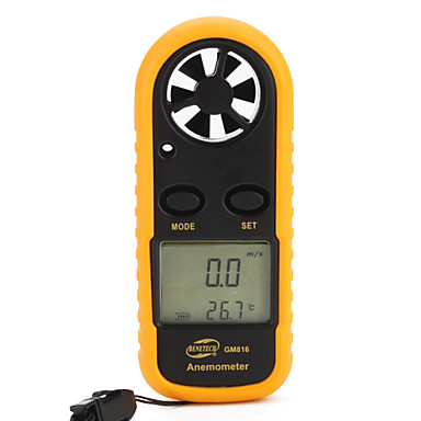 Benetech Gm816 Anemometer 0-30M/S Abs Lcd Display