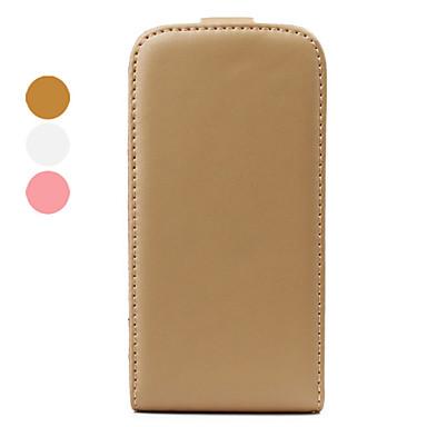 cas body en cuir Flip pour iPhone 4 et 4s (couleurs assorties)