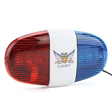 emniyet ışıkları LED Bisiklet AA Lümen Pil Bisiklete biniciliği Çok Fonksiyonlu