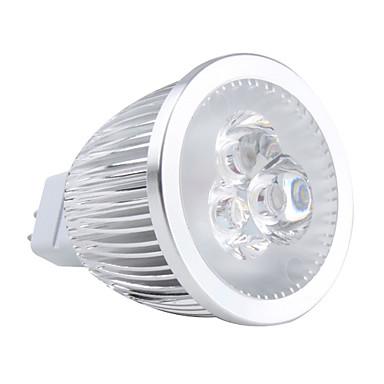 gu5.3 (mr16) led spotlight mr16 3 yüksek güç led 450lm sıcak beyaz 3000k ac 12v