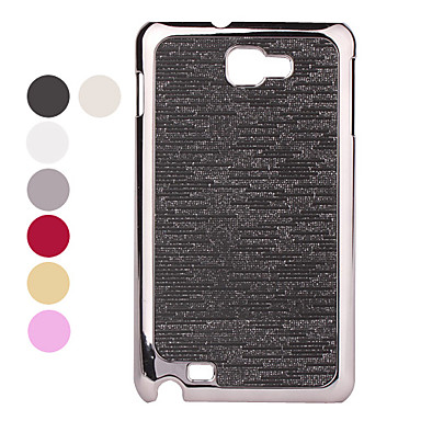 Electroplating Lines Style Protective Case for Samsung i9220 (Assorted colors)