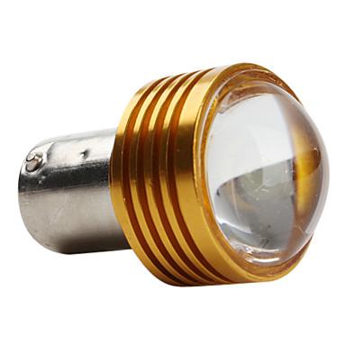 1156 Bilar Vit 1W SMD LED 5800-6300 Blinkerljus Dimljus
