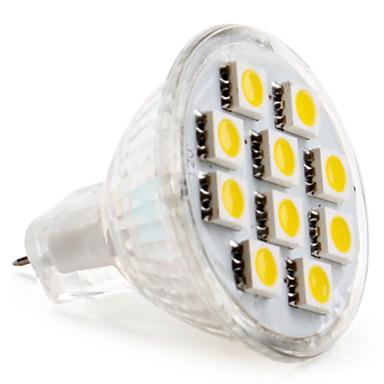 2 W 2800 lm GU4(MR11) LED Spot Işıkları MR11 10 LED Boncuklar SMD 5050 Sıcak Beyaz / Serin Beyaz 12 V