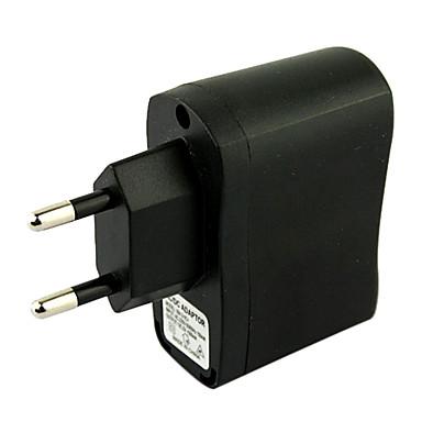 AB Plug USB AC DC güç kaynağı duvar şarj adaptörü mp3 mp4 dv şarj (siyah)