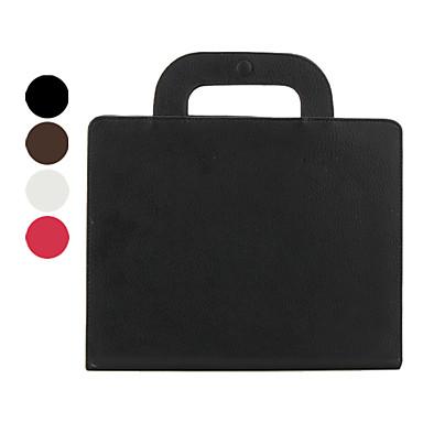 Skyddande PU läder handväska fodral för ipad 2/3/4 (blandade färger)
