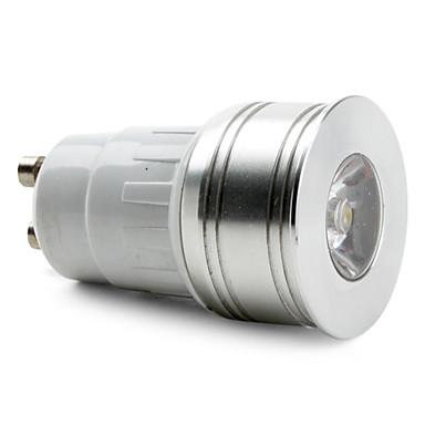 gu10 1W 100-150LM 3000-3500K bianco caldo macchia lampadina led (85-265V)