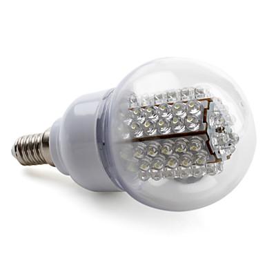 Bombillas Globo A E14 3.5 W 78 LED de Alta Potencia 210 LM 6000K K Blanco Natural AC 100-240 V