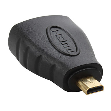 v1.3 HDMI zásuvka na mikro HDMI adaptéru muže