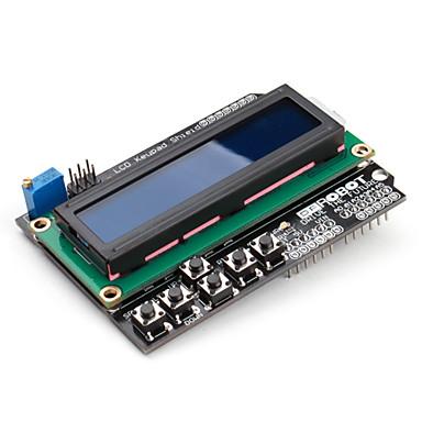 16 x 2 LCD Keypad Shield for (For Arduino) Uno Mega Duemilanove