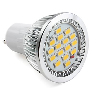 GU10 LED 스팟 조명 MR16 16 SMD 5630 330 lm 따뜻한 화이트 AC 220-240 V