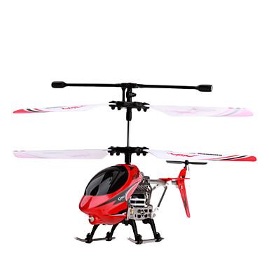 tamaño de la palma helicóptero de control remoto por infrarrojos con giro (rojo)