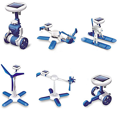 6-i-1 Solladende Robot kit