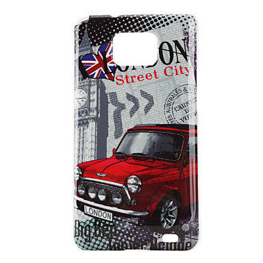 Red Car Pattern Hard Case for Samsung Galaxy S2 I9100