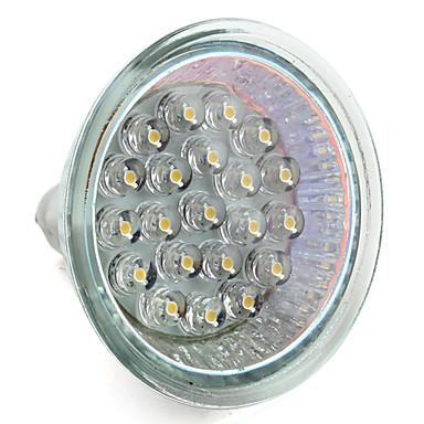 GU5.3 - 1 W- MR16 - Spot Lights (Varmt vit 65