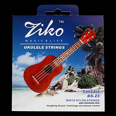 ZIKO - (DS-23) High-Grade White Nylon Concert Ukulele Strings (062-067)