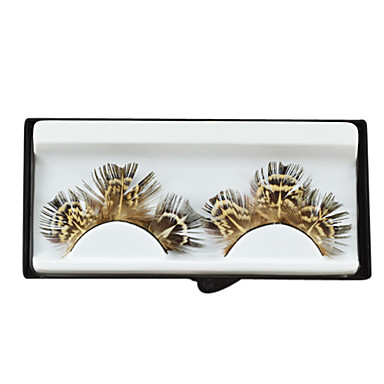 Gorgeous Design Brown Faux Eyelashes for Party and Salon Studio Makeup