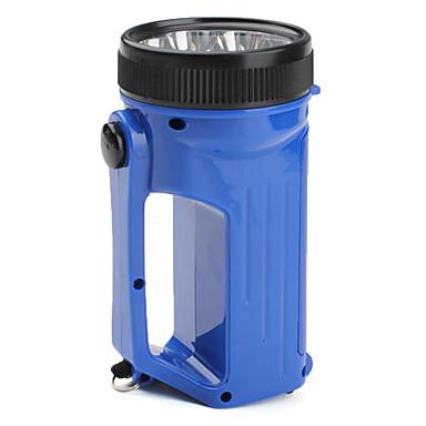 camping 2-tilassa 12-LED latern taskulamppu (3xAA, sininen)