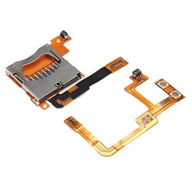 la sustitución de cables bus y ranura para tarjetas SD lector para Nintendo DSi XL y DSi LL