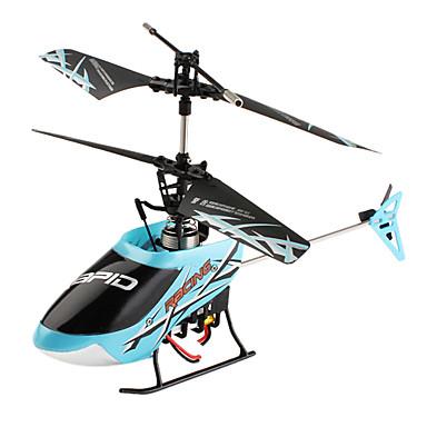 301a de la Serie F de 4 canales mini-helicóptero de control remoto (azul)