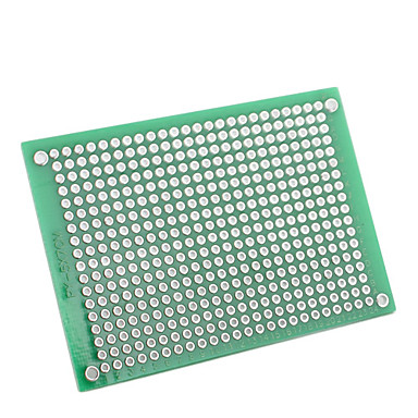 5 x 7cm Double-Sided Glass Fiber Prototyping PCB Universal Breadboard (5-Pack)