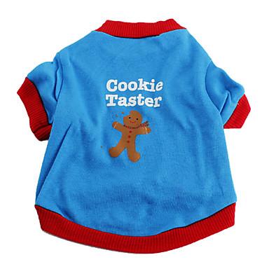 쿠키 도요면 개를위한 t-셔츠 (XS-L)
