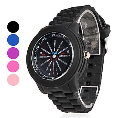 Men's Plastic Analog - Digital LED Wrist Watch (Assorted Colors) Cool Watch Unique Watch