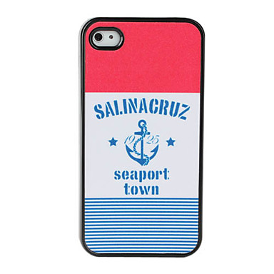Novel Design Dull Polish Hard Case for iPhone 4 and 4S (Multi-Color)
