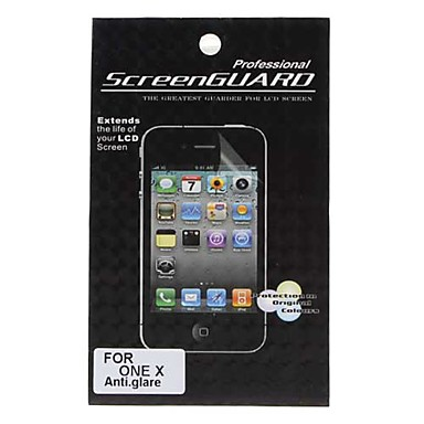 Anti-Glare LCD Screen Protector for HTC ONE X (Transparent)