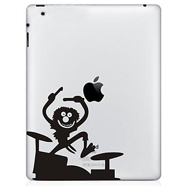 1 parça Arka Koruyucu Ekran Koruyucular için Çizilmeye Dayanıklı Oynanan Apple Logosu Tema MacBook Pro 13 ''