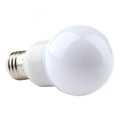3W E26/E27 LED Globe Bulbs G60 48 SMD 3528 160 lm Natural White AC 220-240 V