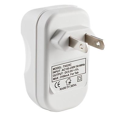нам ввести путешествия зарядное устройство для нового IPad и IPad 2 (белый)