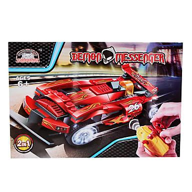 3D DIY Demon Messenger RC Car Building Blocks Bricks Toy Sets (87pcs, No.8158)