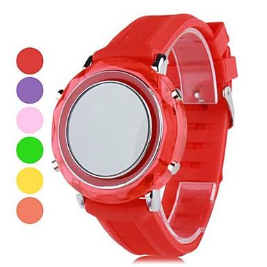 Unisex Plastic Digital LED Wrist Watch (Assorted Colors)