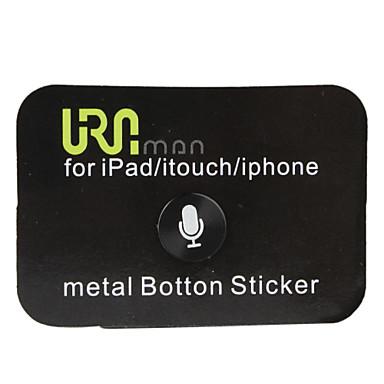 home knop stickers voor iphone, ipad en iTouch (zwart)
