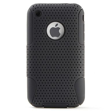 Mesh Dismountabl Estilo Hard Case para el iPhone 3G y 3GS (colores surtidos)