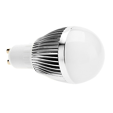 regulable gu10 6w 540-600lm 6000-6500K LED de luz blanca natural de bola bombilla (220v)
