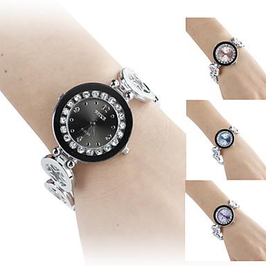 Women's Five Stars Style Alloy Analog Quartz Bracelet Watch (Assorted Colors)